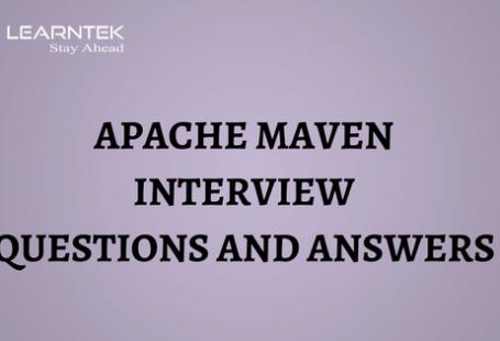 Apache Maven Interview Questions