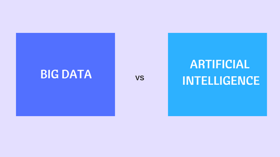 Big Data vs. Artificial Intelligence