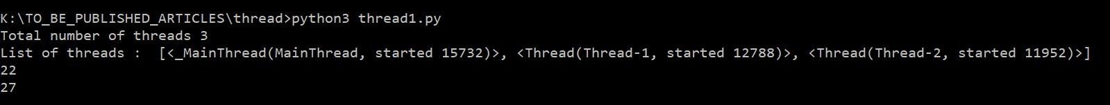 Python Thread Tutorial (Part 1) - DZone Big Data