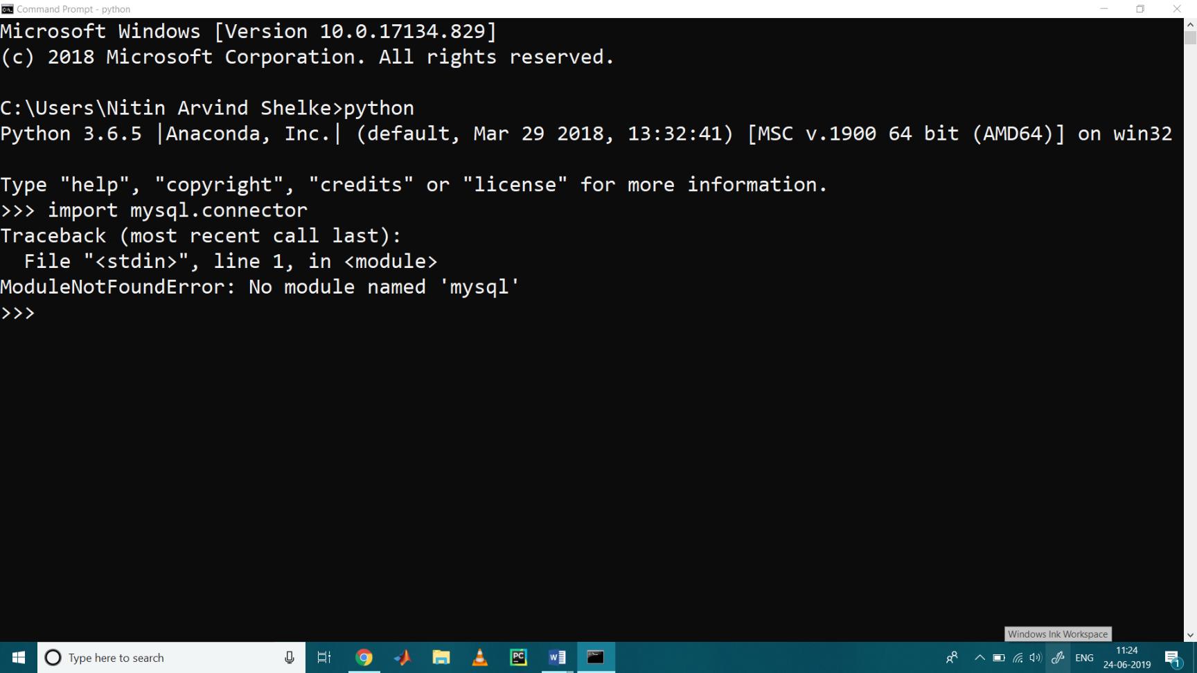 MySQL with Python 1