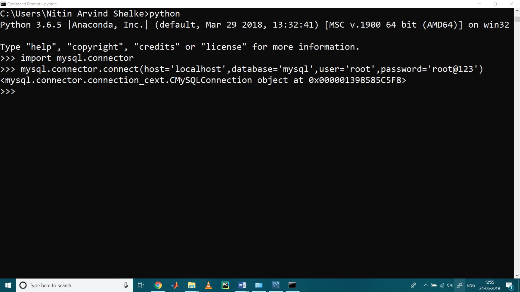 MySQL with Python 4