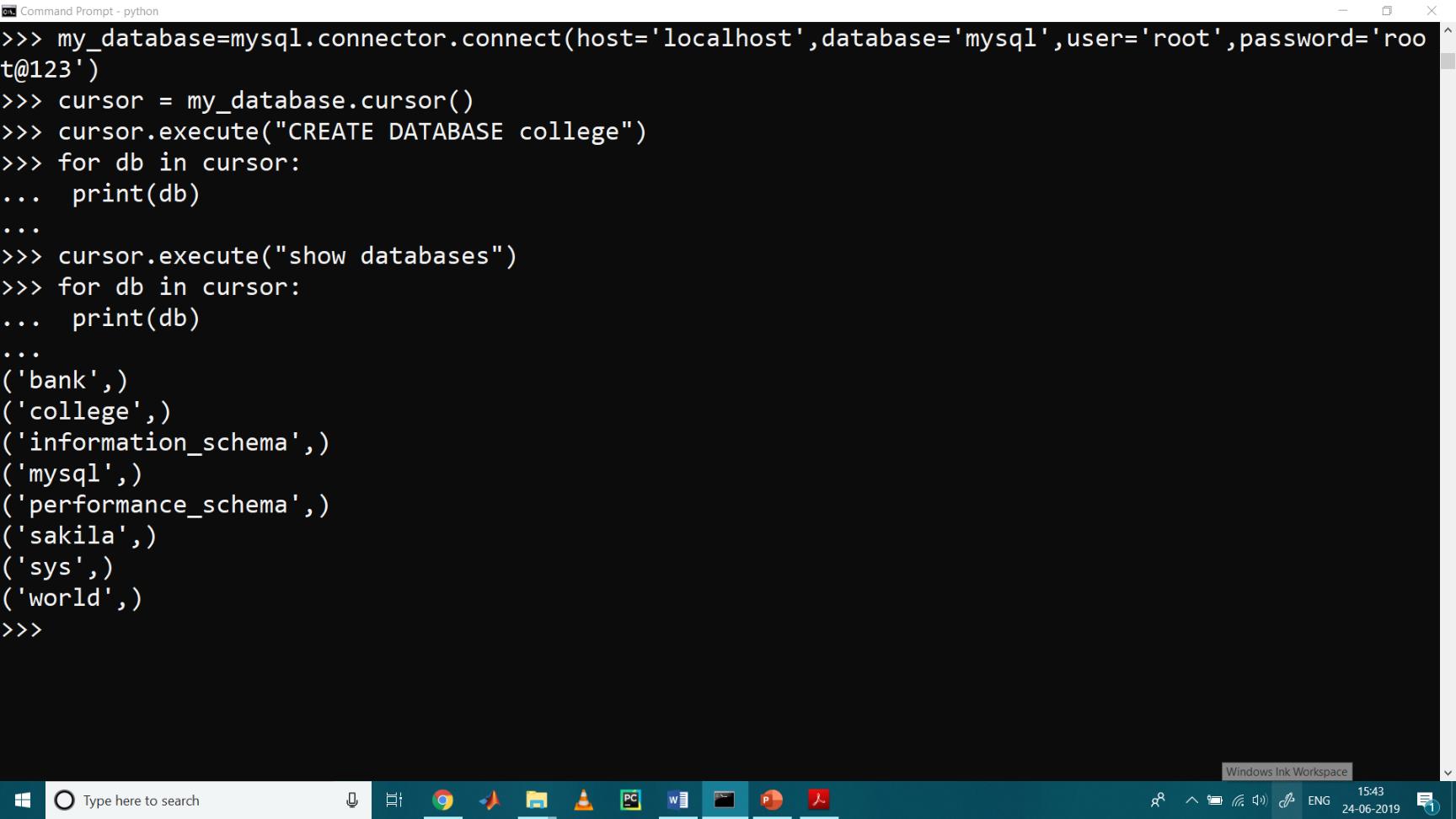 MySQL with Python 6