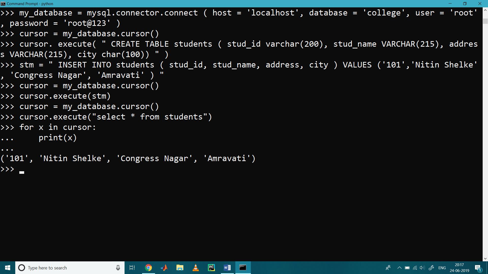 MySQL with Python 9