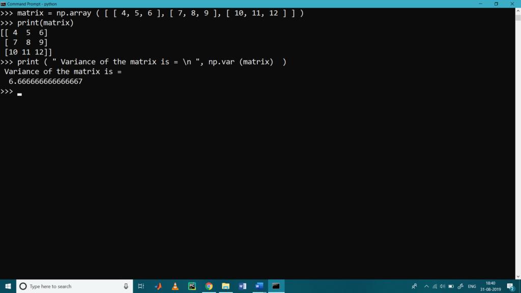 Matrix Operations with Python NumPy5