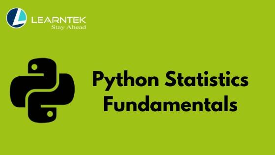 Python Statistics Fundamentals