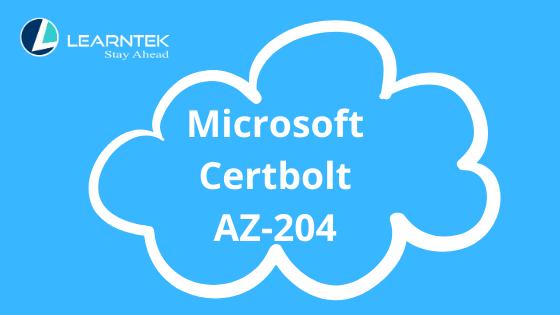 Microsoft Certbolt AZ-204 Exam with a High Score