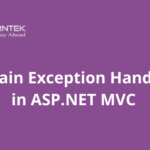 Explain Exception Handling in ASP.NET MVC