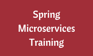 Spring Microservices Training