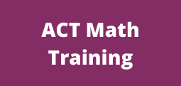 ACT Math Training