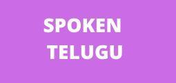 Spoken telugu