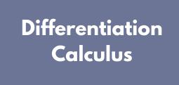 Differentiation Calculus