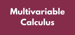 Multivariable Calculus