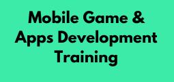 Mobile Game & Apps Development Training